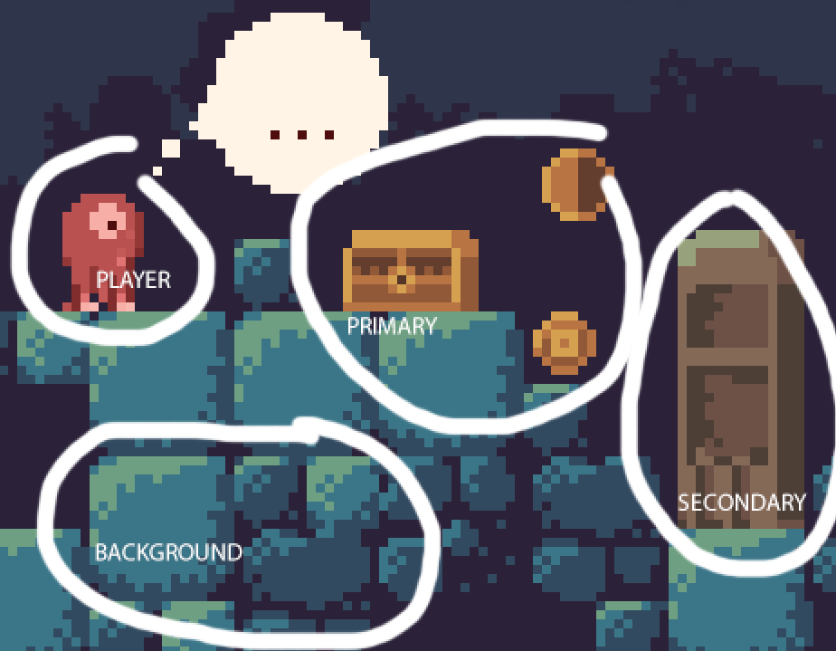 pixelart color layering breakdown